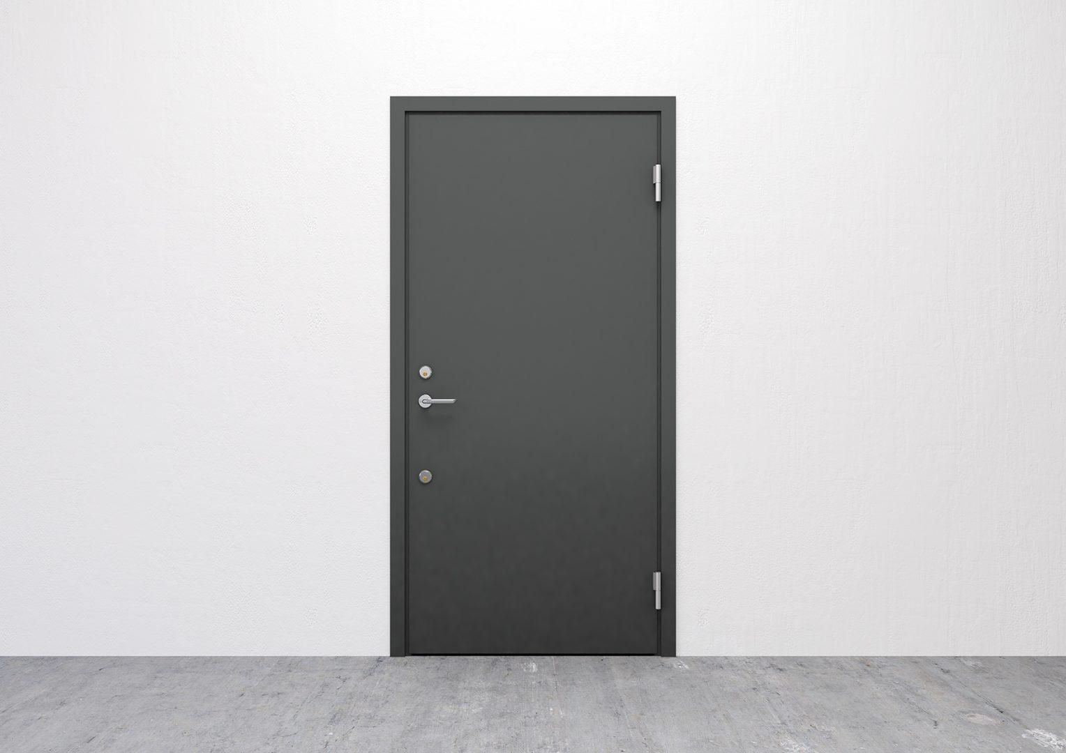 Säkerhetsdörr - Innerdörr